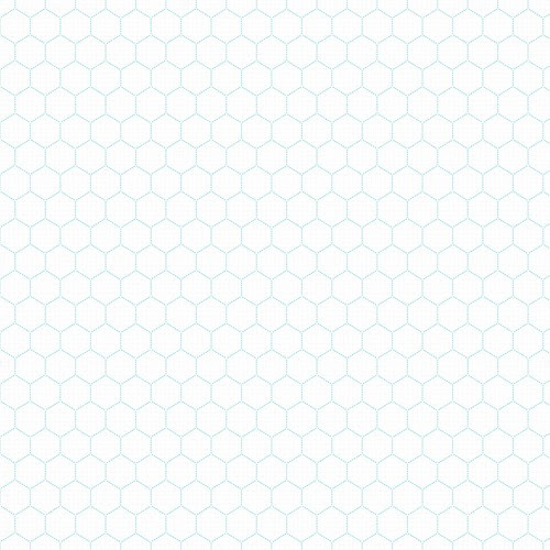 4 -turquoise Large stitched Hexagon - free printable digital patterned paper