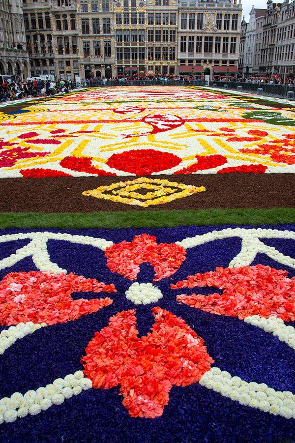perierga.gr - 600.000 λουλούδια για ένα... χαλί!