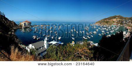 Avalon, a ilha de Santa Catalina, Ca