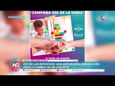 Un juguete y te regalan una pinta: La iniciativa de una cerveceria por el Dia de Las Infancias