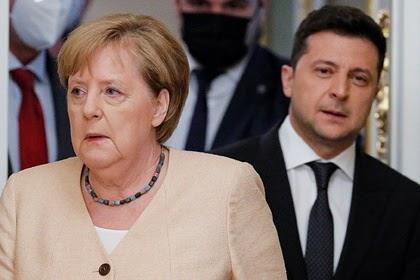 Украина захотела провести встречу в «нормандском формате» до ухода Меркель