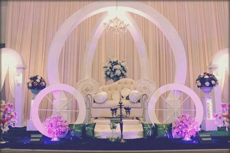 Creative wedding stage background unique interior design