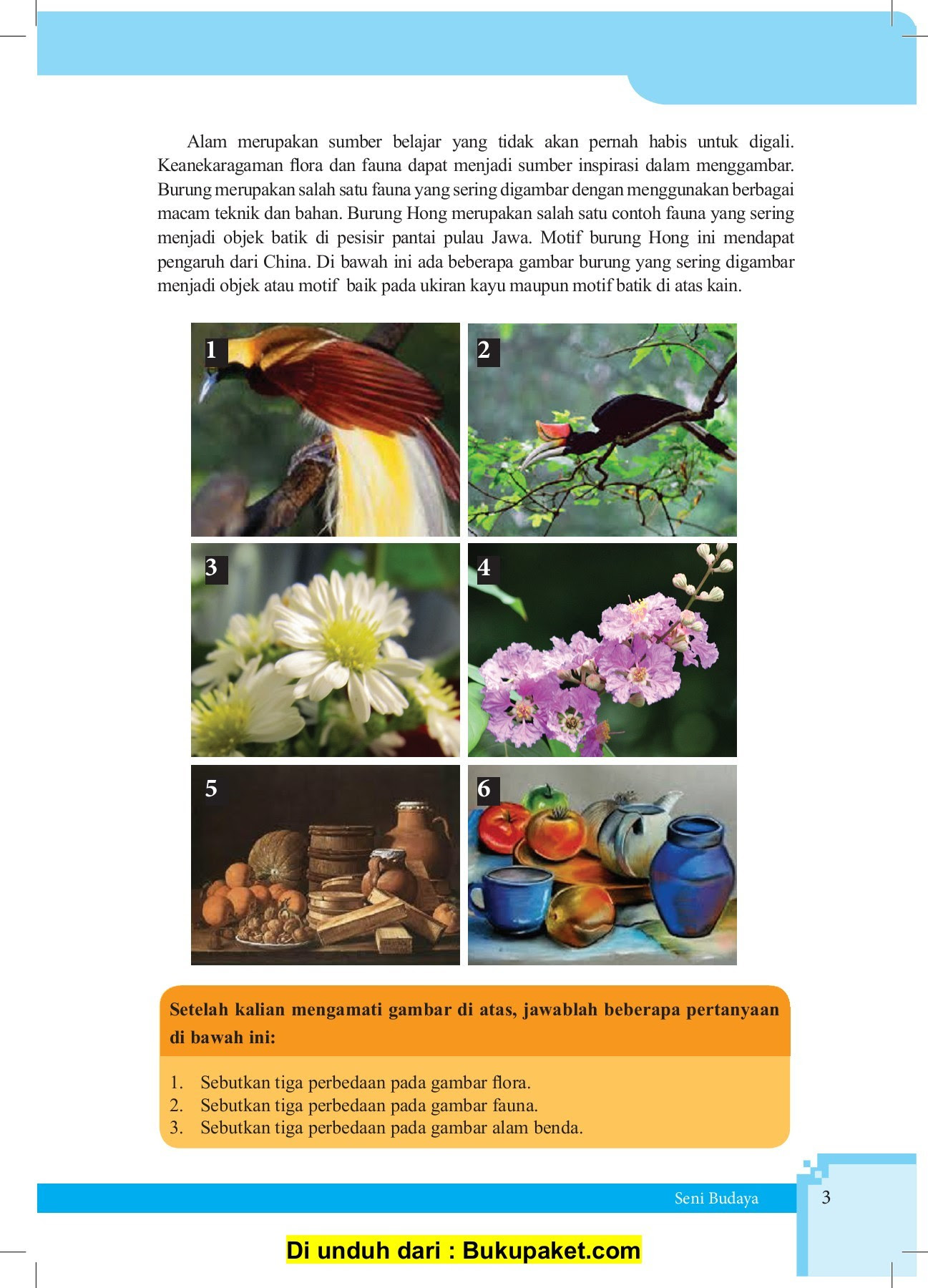 73 Gambar Pemandangan Flora Fauna Dan Alam Benda Terbaik