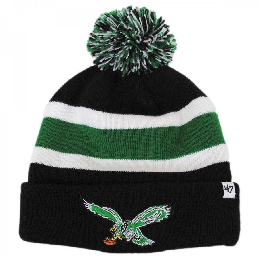 47 Brand Philadelphia Eagles NFL Breakaway Knit Beanie Hat NFL Football Caps