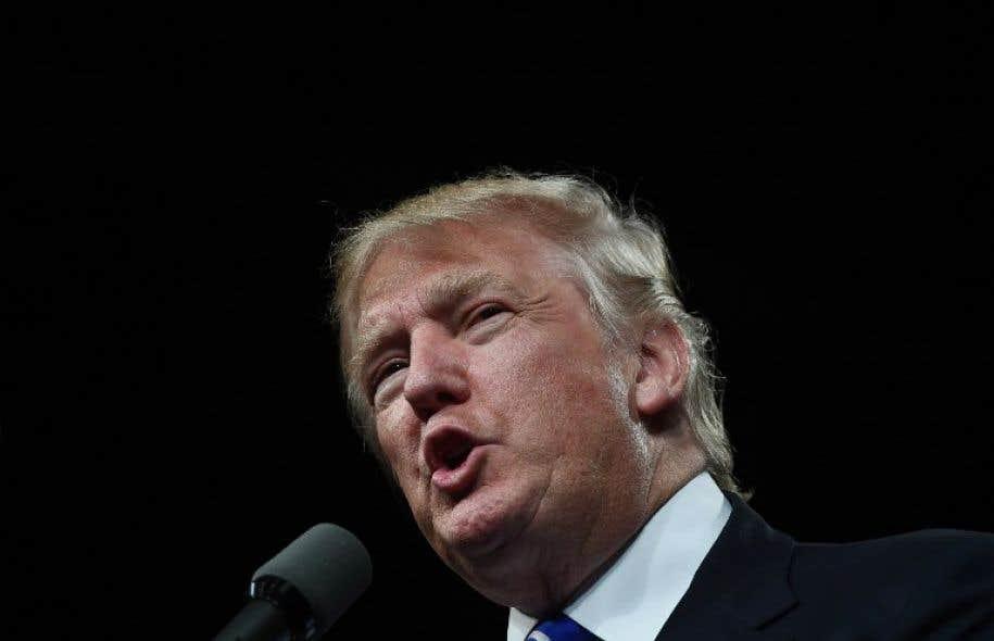 Le candidat républicain à la Maison-Blanche, Donald Trump