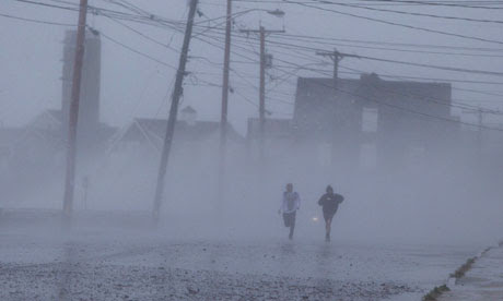 Hurricane Sandy batters east coast
