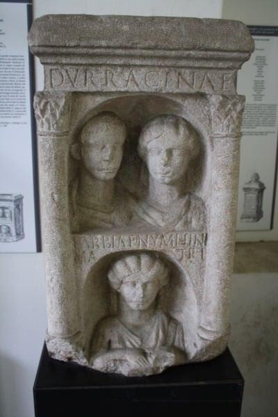 Roman Funeral Memorial