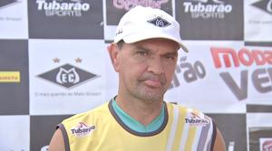 Treinador Elias do Mixto (Foto: Reprodução/TVCA)