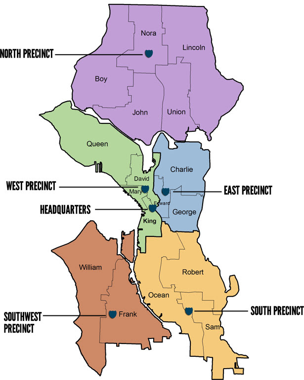 Seattle Police Map Seattle Police Map | Bedroom 2018