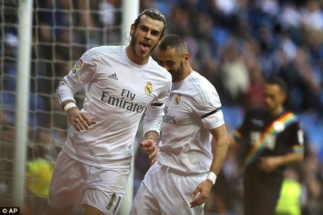 Gareth Bale scored four goals as Real Madrid thrashed Rayo Vallecano 10-2 back in December