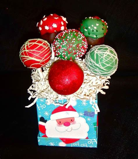 84 best images about Christmas Cake Pops on Pinterest