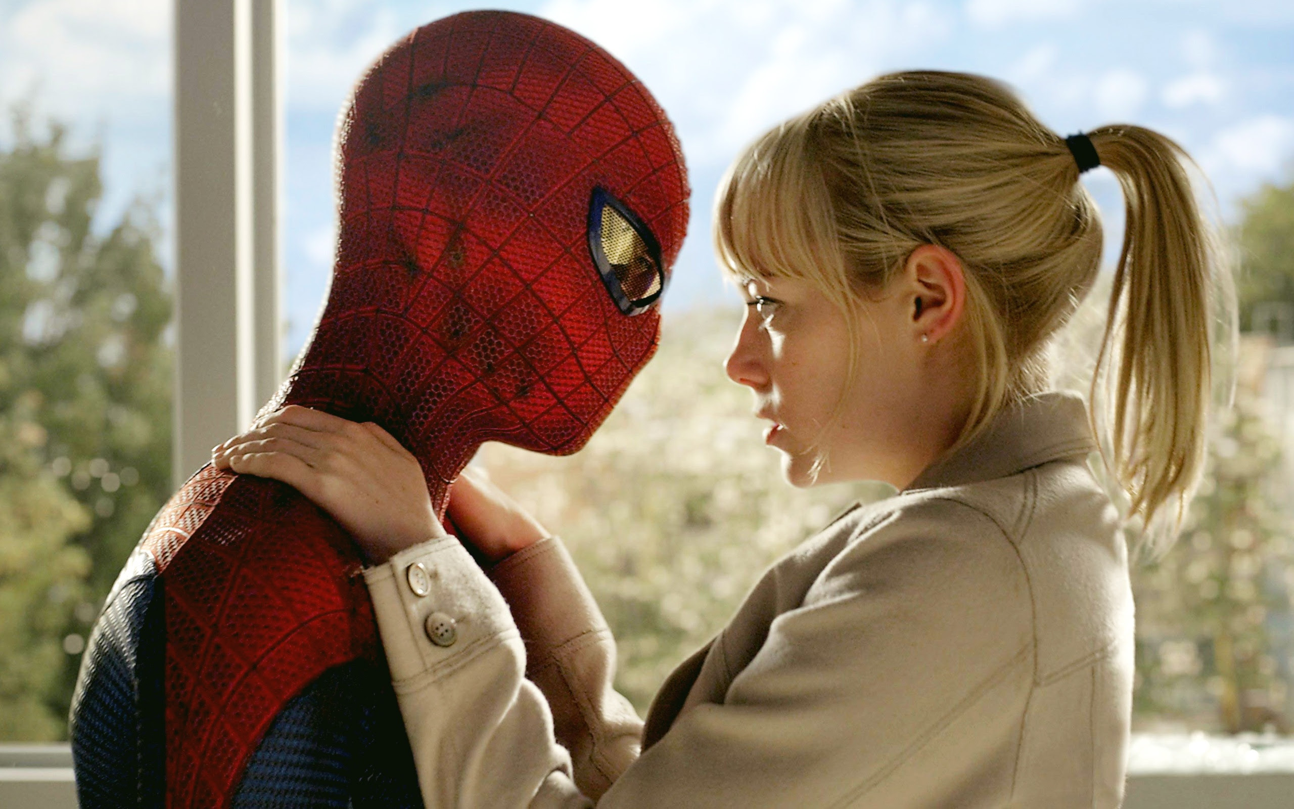 Spider Man And Gwen Stacy Wallpapers In Jpg Format For Free Download