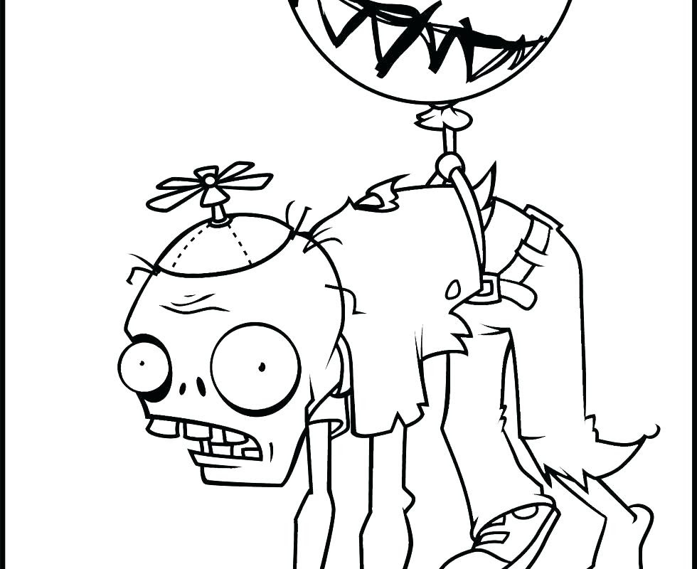 Plants Vs Zombies Garden Warfare Coloring Pages at ...