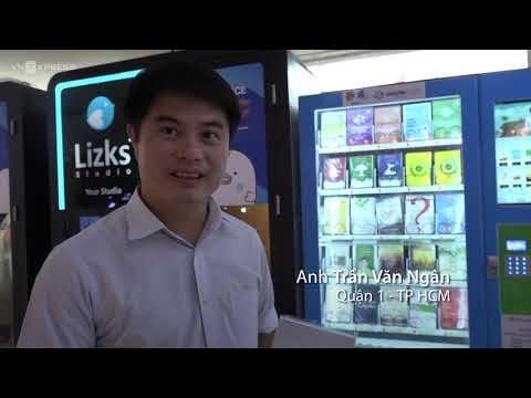 Máy Bán Sách Tự Động Đầu Tiên Tại Việt Nam