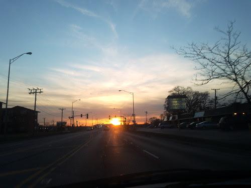 2010-03-22 18.56.28 Bridgview, IL sunset