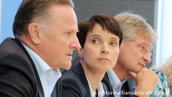 Για «αλλαγή εποχής» στη Γερμανία και την Ευρώπη κάνει λόγο η συμπρόεδρος της Εναλλακτικής για τη Γερμανία Φράουκε Πέτρι