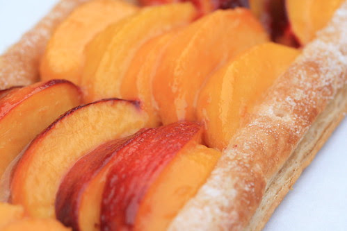 Rustic Nectarine and Peach Tart