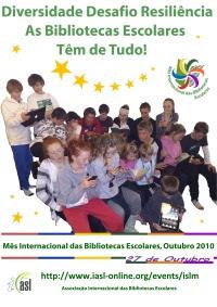 mês das bibliotecas escolares