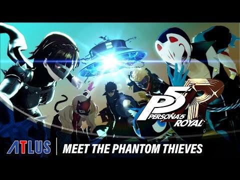 Persona 5 Royal: trailer de 'Meet the Phantom Thieves'