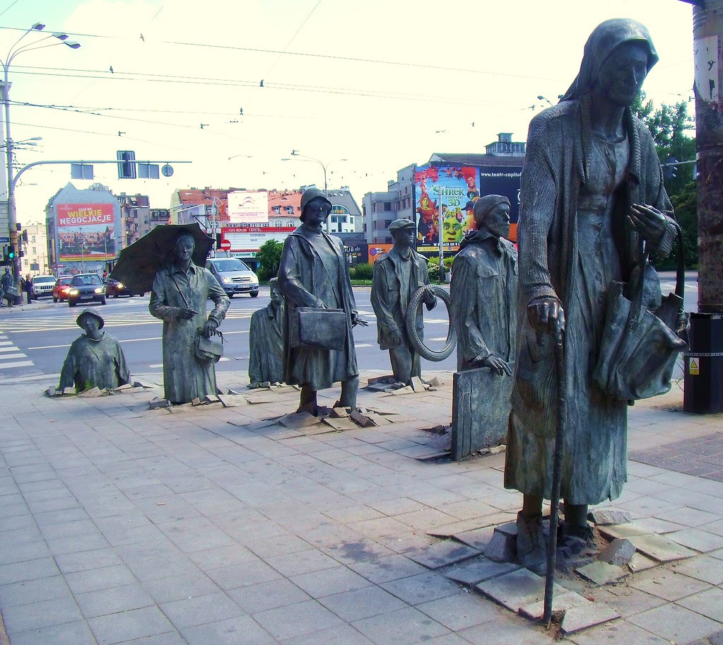 Statues, Wroclaw, Poland
