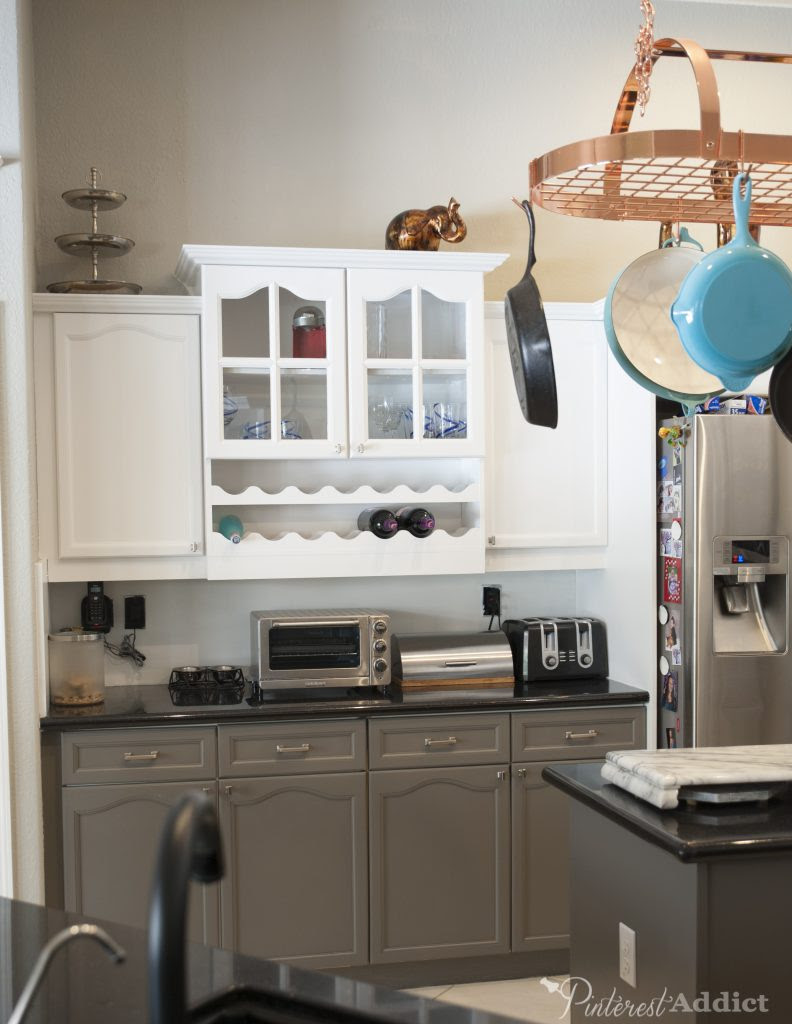 Painting the Kitchen Cabinets - Pinterest Addict