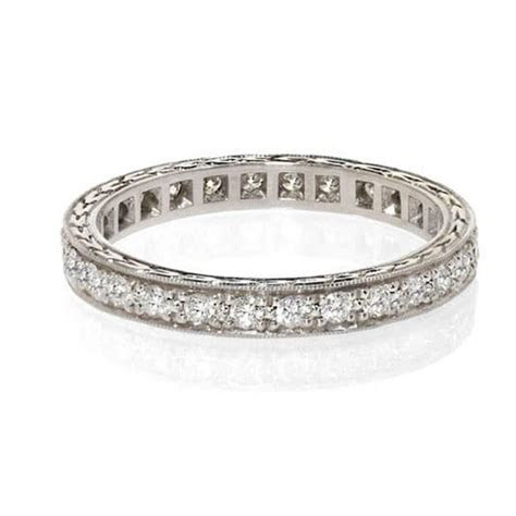 Antique Diamond Wedding Band   Diamond Eternity Rings NYC