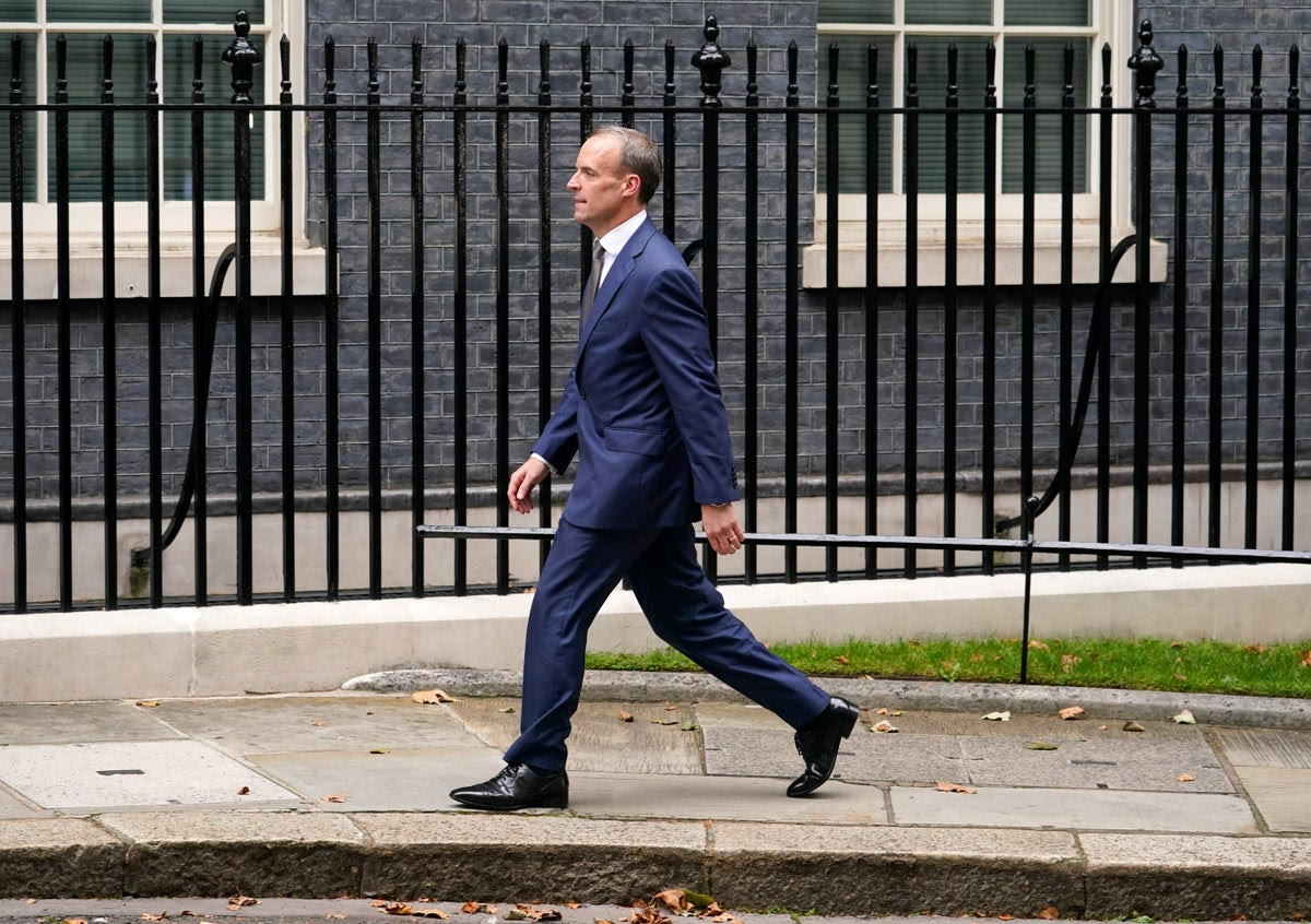Dominic Raab demoted from foreign secretary but handed title of deputy prime minister
