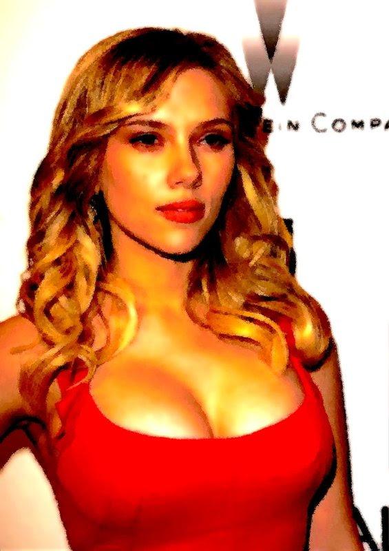 Scarlett Johansson Danny