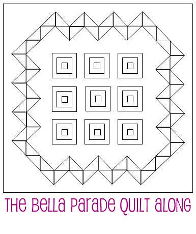 Bella Parade - Quilt Sketch by A Blond Quilts