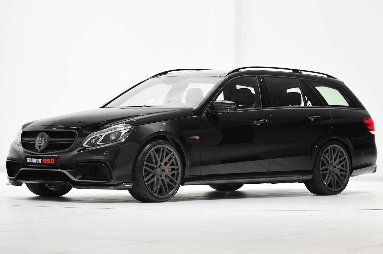 Whoa: BrabusTuned MercedesBenz E63 AMG Wagon Makes 850 HP  Motor Trend WOT