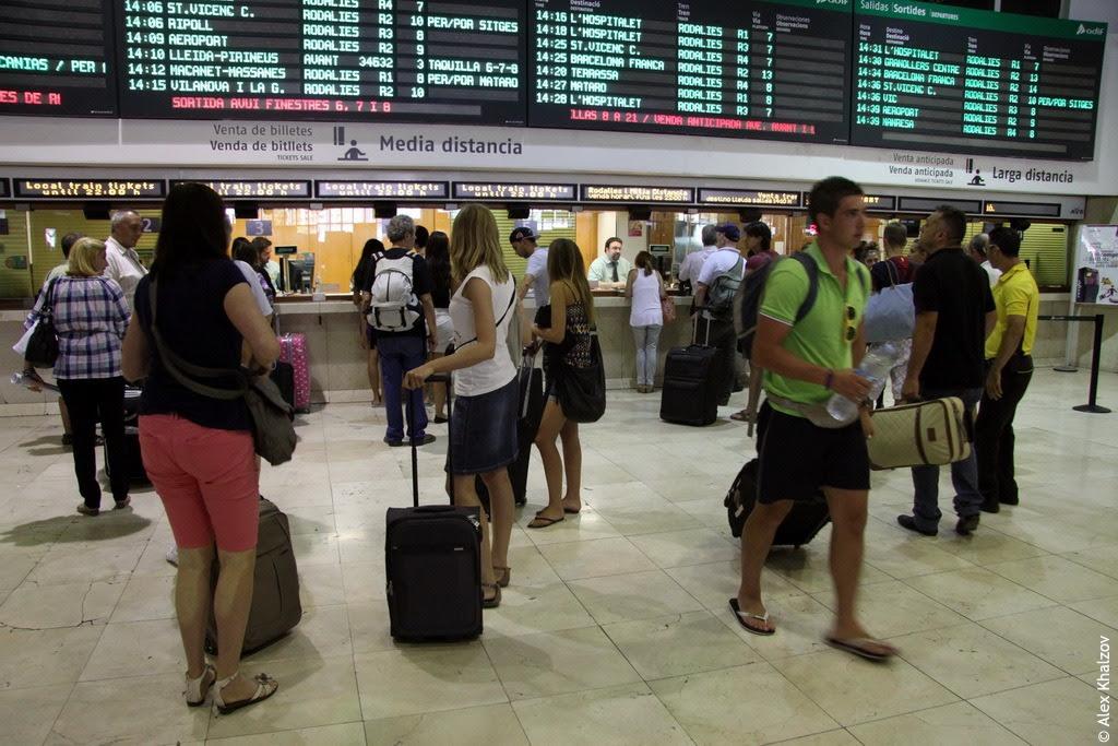 Estació de Barcelona-Sants