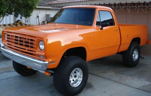 Orangecrush76 1976 Dodge W Series Pickup Specs Photos