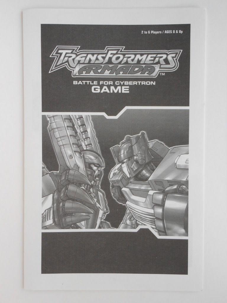 Transformers Armada rules