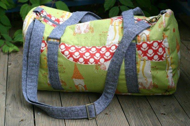 Betz White Road Tripper Duffle sewn by Kate H2