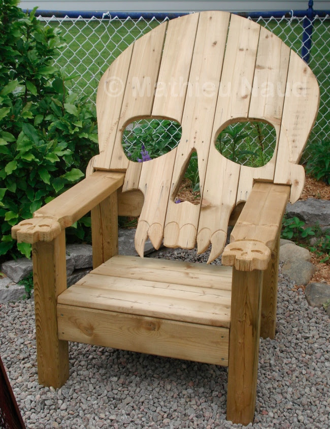 Free Skull Adirondack Chair Plans Woodworking For Hobby