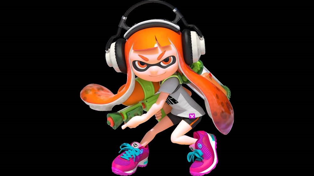 Splatoon's Inkling Girl coming to paint your lounge in Figma form screenshot