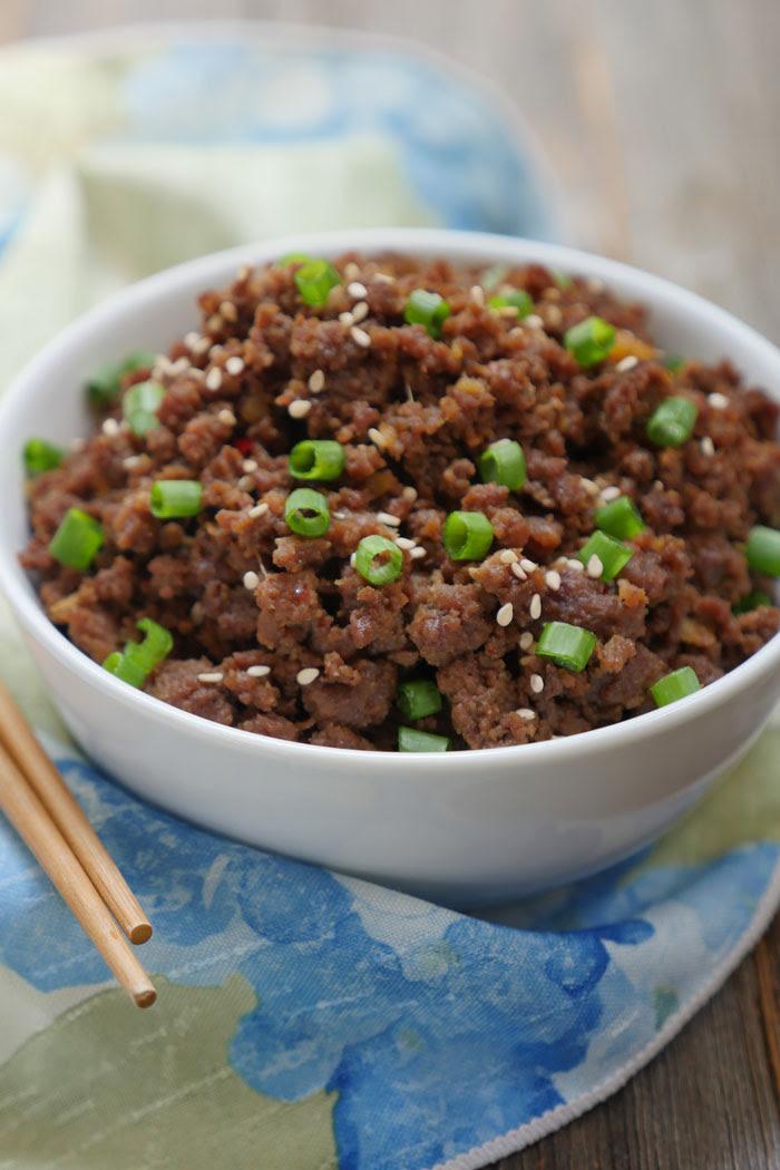 Instant Pot Ground Beef Bulgogi - My Heart Beets