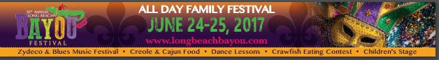 Long Beach Bayou Festival, 31st Annual