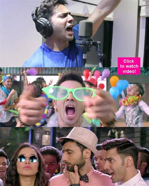 varun dhawan unveils abcd  song happy bday exclusively