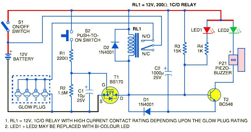 Glow plug timer circuit circuit diagram images glow plug timer circuit asfbconference2016 Images