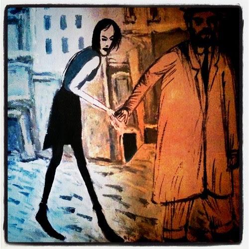 Painting by Karlo Kacharava