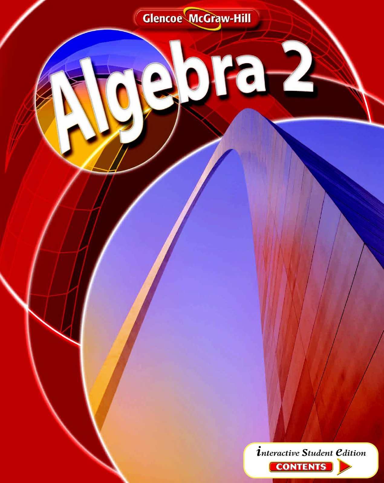Calameo Algebra 2 Mcgraw Hill