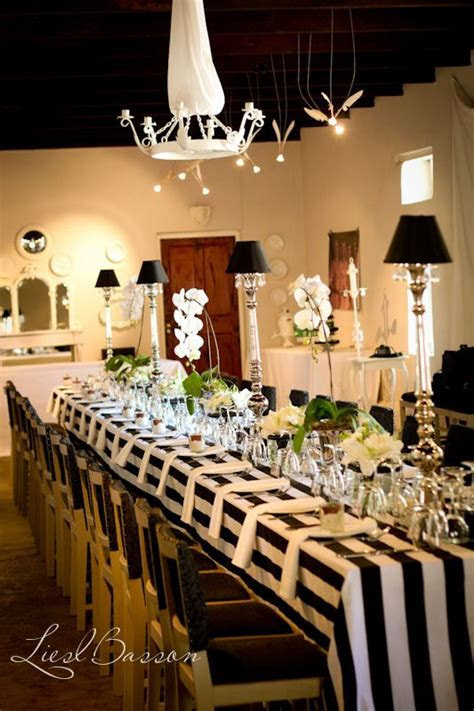 90 best images about Black and White Stripe Weddings on