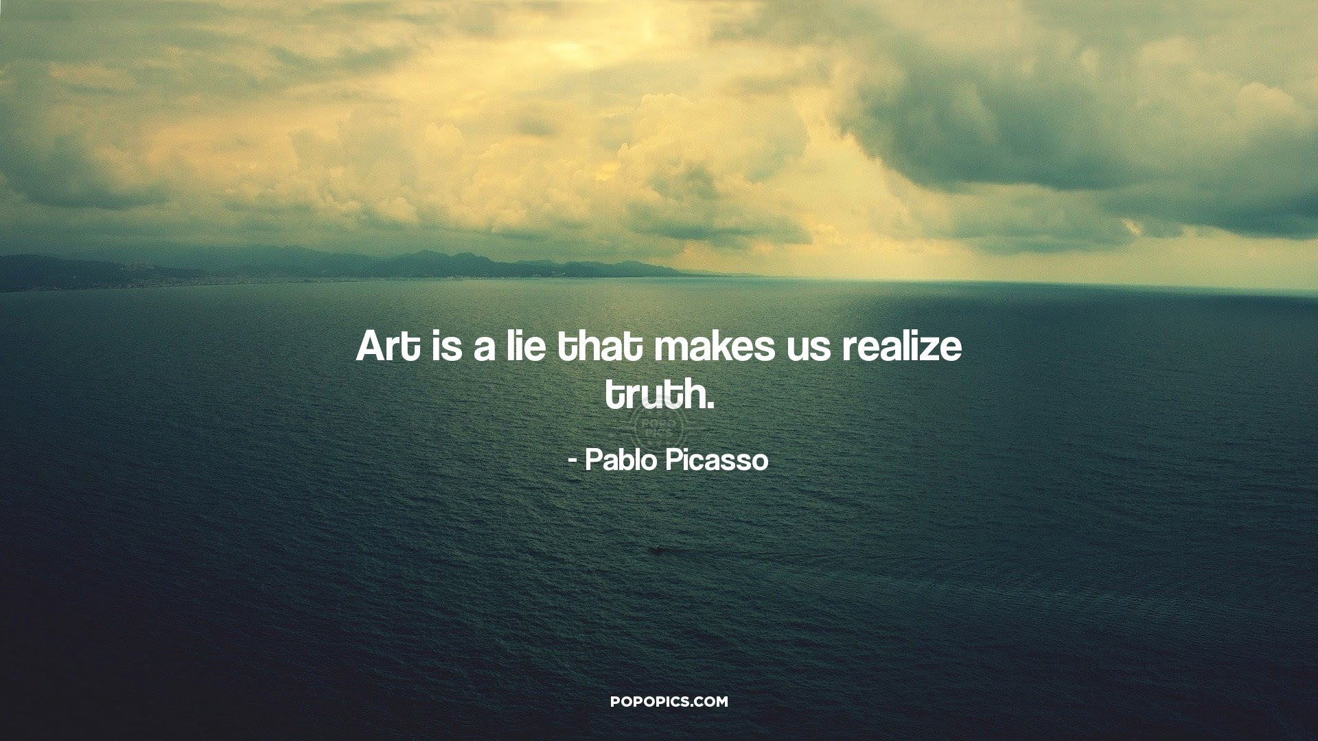 Art Is A Lie That Makes Us Realize Truth Quotes By Pablo Picasso