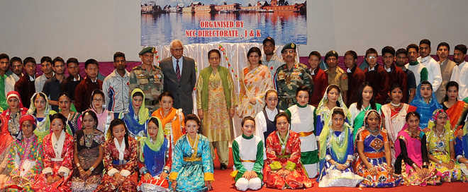 Governor and First Lady participate in NCC Special National Integration Camp