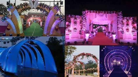 Marriage Entry Gate Design   Wedding Theme Design Photos