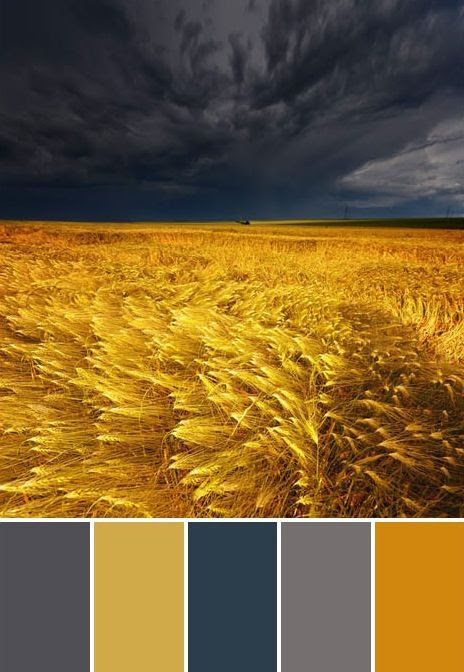 waves of grain color palette