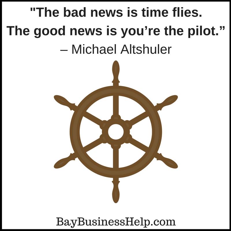 Michael Altshuler The Bad News Is Time Flies Motivational