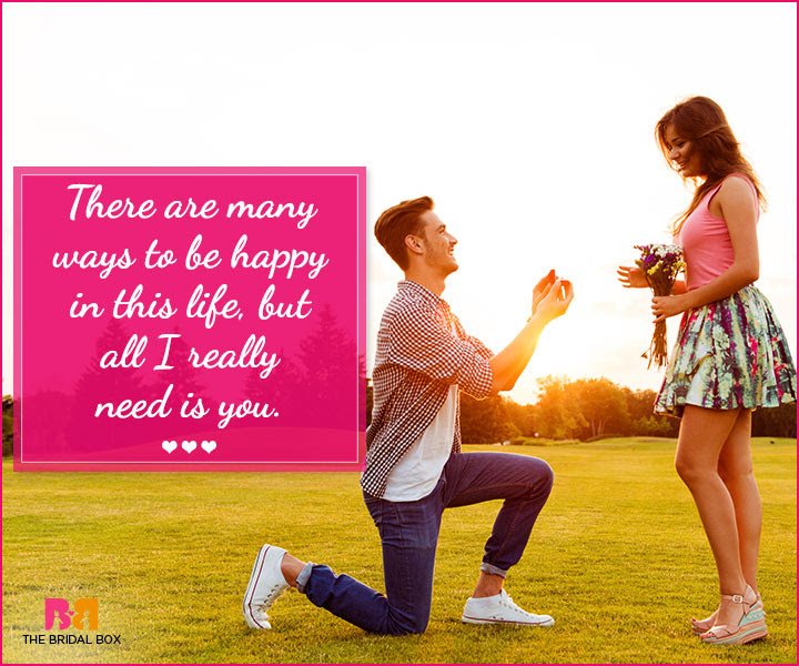 Marriage Proposal Quotes 26