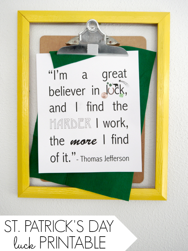 Luck Quote Craft